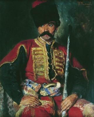 Запорожский_козак._1884
