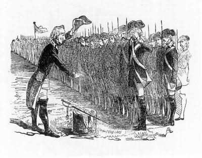 Т. Г. Шевченко. Прощание с солдатами. 1842