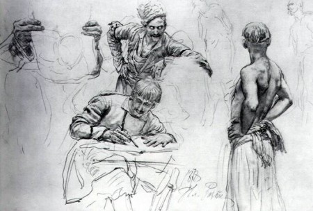repin_zaporozhtsy_sketch_1878_3_big