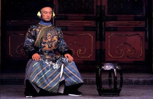 Кадр из фильма «Последний император». Режиссер: Бернардо Бертолуччи. Год: 1987. Роль: Чанг.